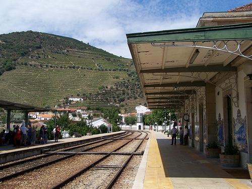 Estacion de trenes de Pinhao