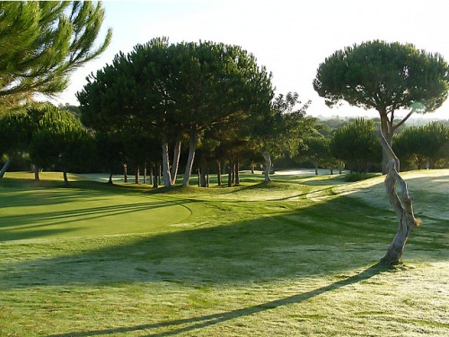 Golf en alvor