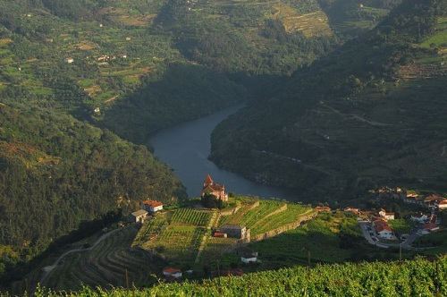 Mesão Frio, en el valle del río Duero