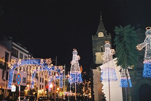 Funchal en Navidad