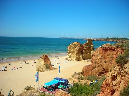 Playa en Lisboa