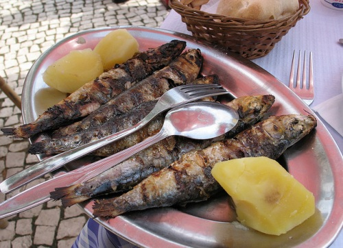 Sardinas de Portimão