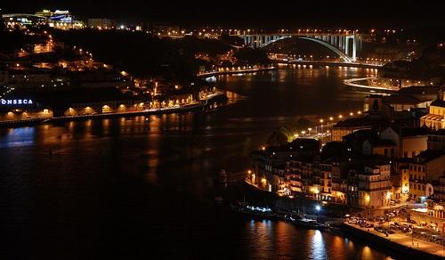 Noche en Oporto