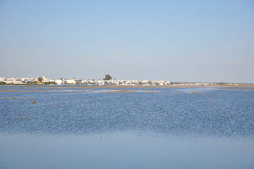 El oriente del Algarve y sus playas en verano