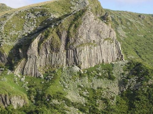 Las columnas naturales de Rocha dos Bordões