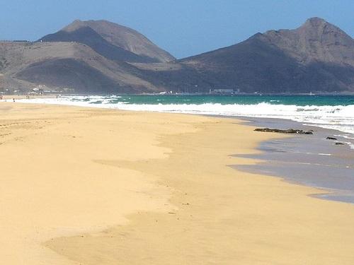 Playas en Porto Santo