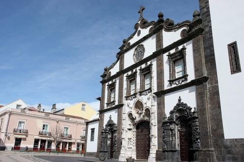 Iglesia de San Sebastian en Ponta Delgada