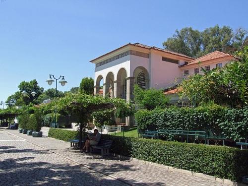 Las famosas aguas termales de Monfortinho