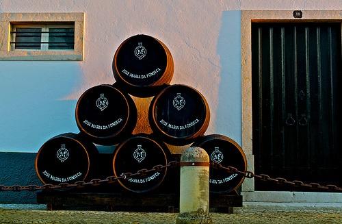 Bodegas de José María da Fonseca en Azeitão