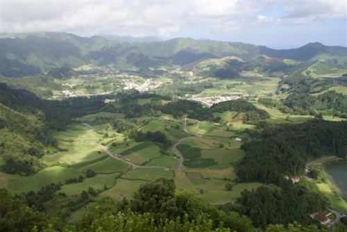 Miradores de Furnas, isla de São Miguel