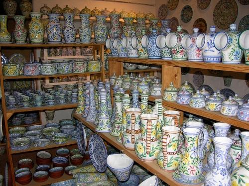 Porches, sus paisajes y cerámicas